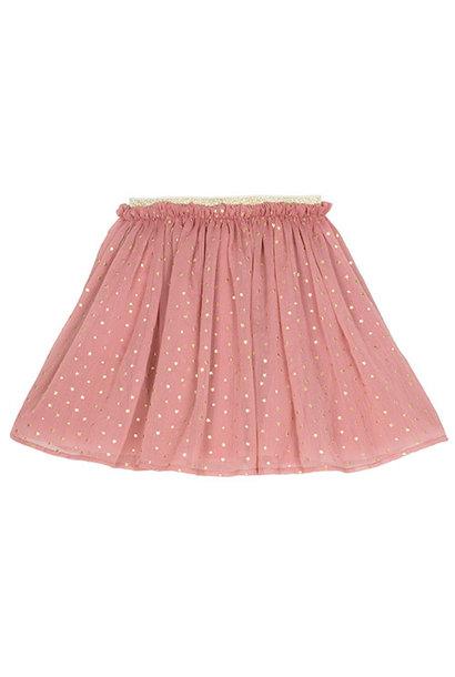 Wild & Gorgeous Star Skirt Dusty Pink (Rok)