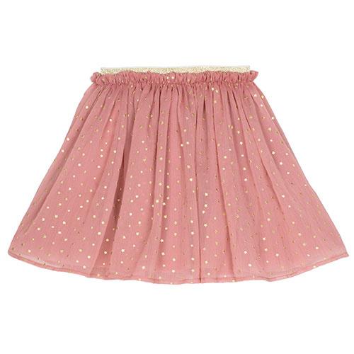 Wild & Gorgeous Star Skirt Dusty Pink (Rok)-1