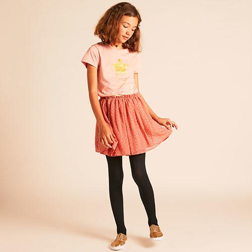 Wild & Gorgeous Star Skirt Dusty Pink (Rok)-5