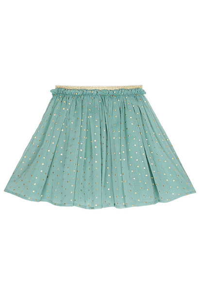 Wild & Gorgeous Star Skirt Dusty Blue (Rok)