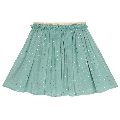 Wild & Gorgeous Star Skirt Dusty Blue (Rok)-1