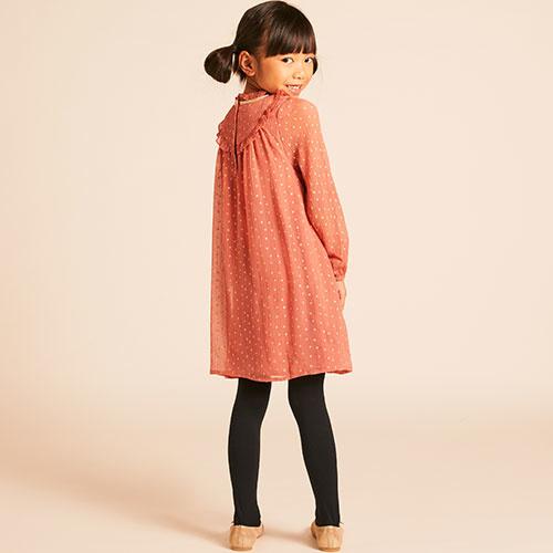Wild & Gorgeous Winter Crush Dress Dusty Pink (Jurk)-4