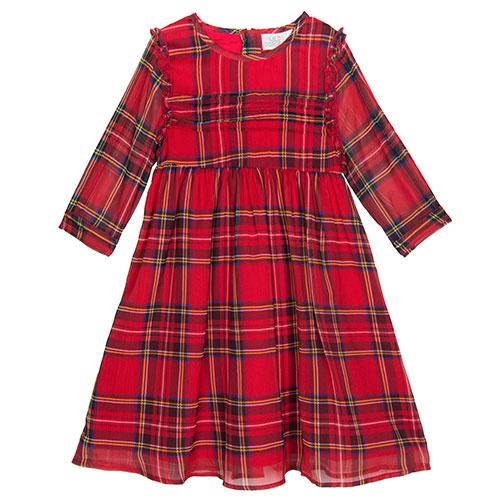 Wild & Gorgeous Ann Tartan Dress (Jurk)-1