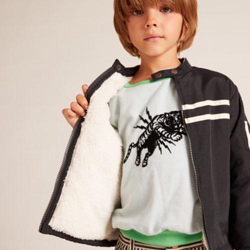 Wild & Gorgeous Biker Jacket Black (Jas)-2