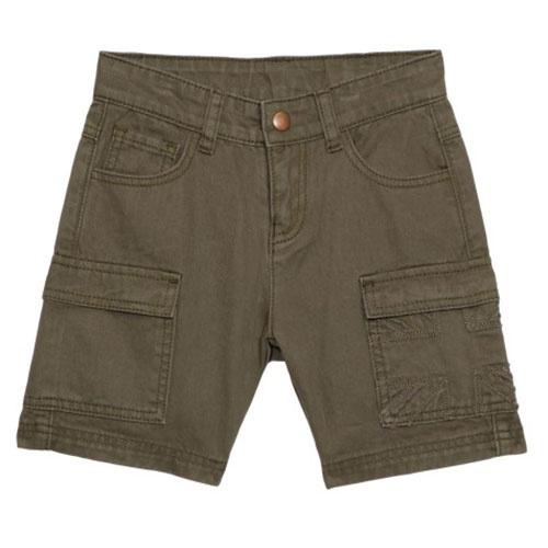 Wild & Gorgeous Cargo Shorts Khaki (Korte broek)-1