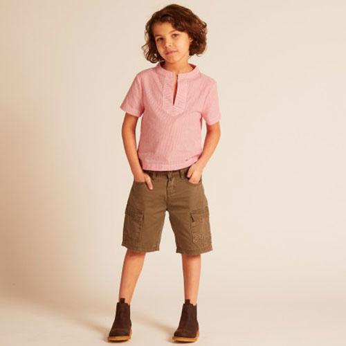 Wild & Gorgeous Cargo Shorts Khaki (Korte broek)-2