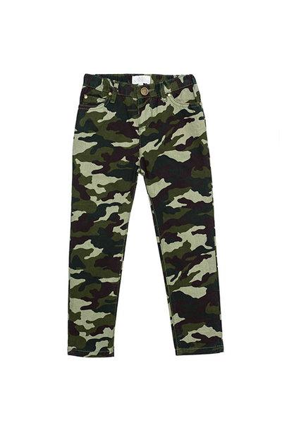 Wild & Gorgeous Skinny Camo Jeans Khaki (Broek)
