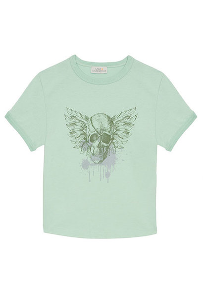 Wild & Gorgeous Pirate Tee Aqua (t-shirt)