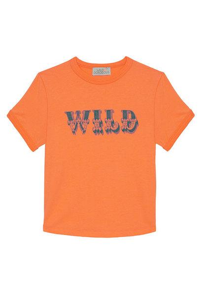 Wild & Gorgeous Wild Tee Orange (t-shirt)
