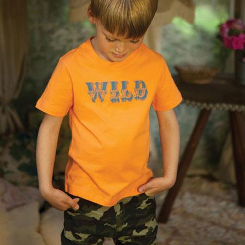Wild & Gorgeous Wild Tee Orange (t-shirt)-2