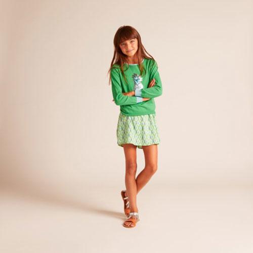 Wild & Gorgeous Pineapple Jumper Green (Trui)-3