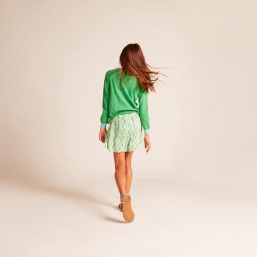 Wild & Gorgeous Pineapple Jumper Green (Trui)-5