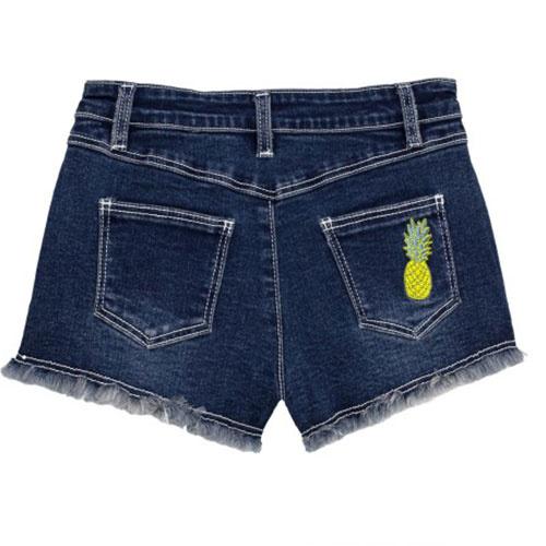 Wild & Gorgeous Pineapple Shorts Blue (Korte Broek)-2