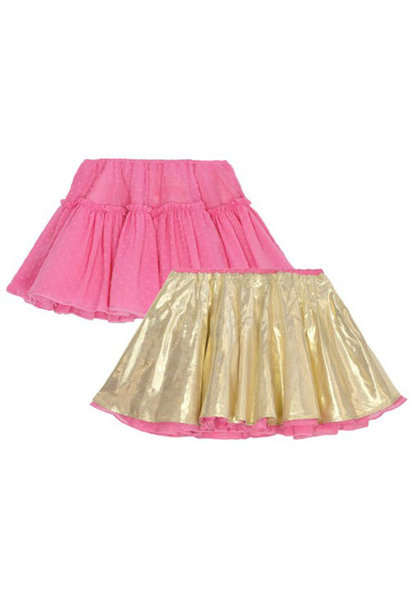 Wild & Gorgeous Can Can Skirt Hot Pink (Rok)