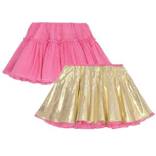 Wild & Gorgeous Can Can Skirt Hot Pink (Rok)-1