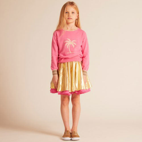 Wild & Gorgeous Can Can Skirt Hot Pink (Rok)-5