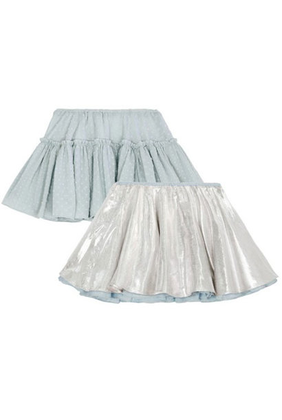 Wild & Gorgeous Can Can Skirt Blue (rok)