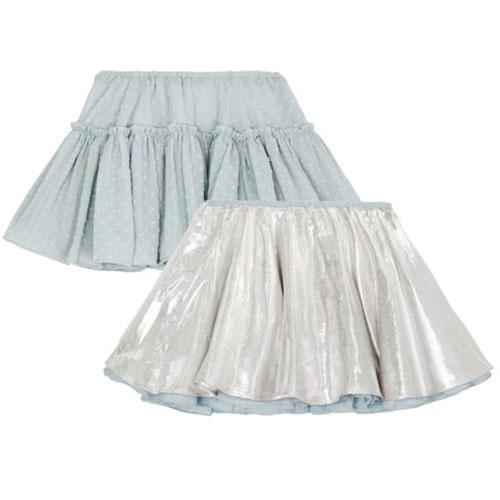 Wild & Gorgeous Can Can Skirt Blue (rok)-1