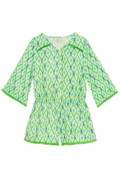 Wild & Gorgeous Beau Playsuit Green (Jumpsuit)
