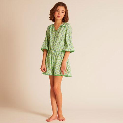 Wild & Gorgeous Beau Playsuit Green (Jumpsuit)-2
