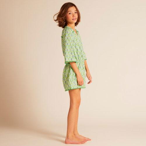 Wild & Gorgeous Beau Playsuit Green (Jumpsuit)-3
