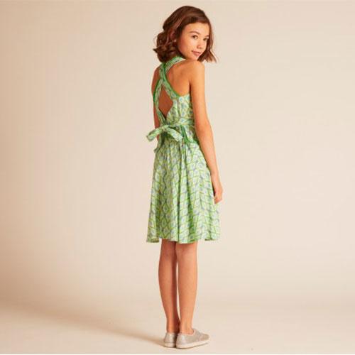 Wild & Gorgeous Colada Dress Green (Jurk)-2