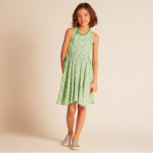 Wild & Gorgeous Colada Dress Green (Jurk)-3