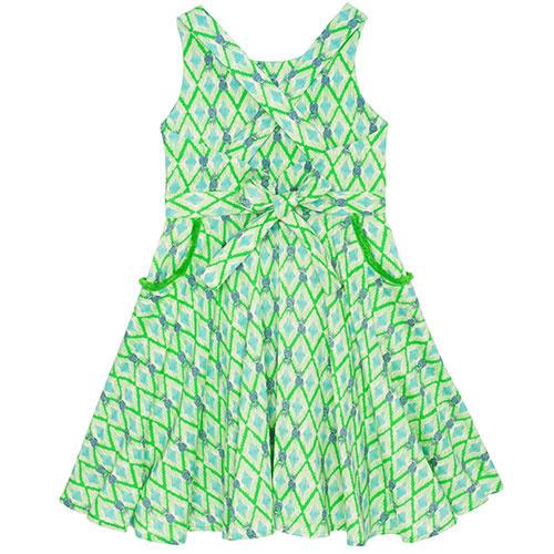 Wild & Gorgeous Colada Dress Green (Jurk)-7