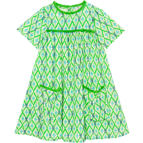 Wild & Gorgeous Paradise Dress Green (Jurk)-1