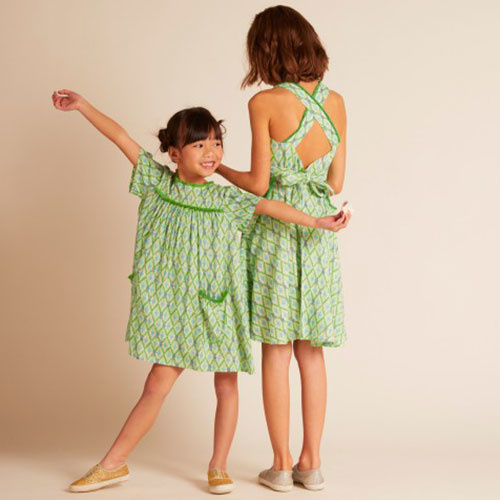 Wild & Gorgeous Paradise Dress Green (Jurk)-4