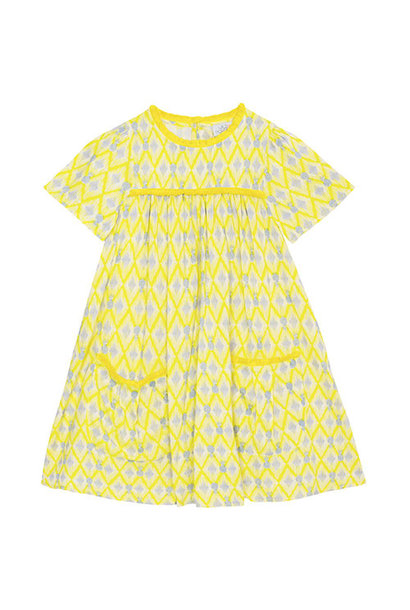 Wild & Gorgeous Paradise Dress Yellow (Jurk)