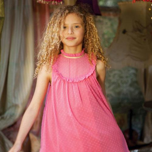 Wild & Gorgeous July Crush Dress Pink (Jurk)-3