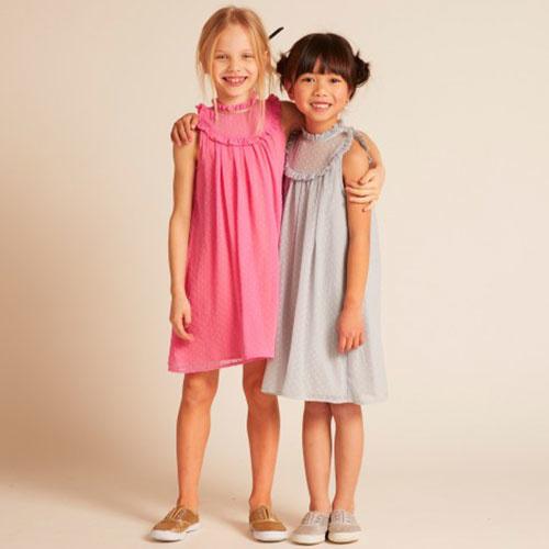 Wild & Gorgeous July Crush Dress Pink (Jurk)-2