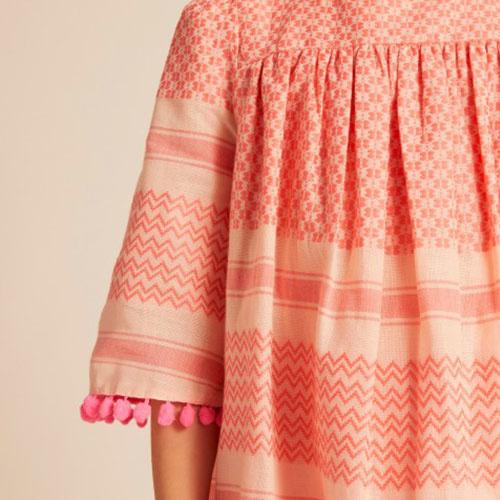Wild & Gorgeous Isla Dress Coral (Jurk)-3