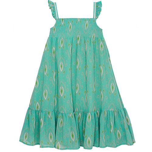 Wild & Gorgeous Goa Dress Turquiose (Jurk)-1