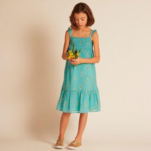 Wild & Gorgeous Goa Dress Turquiose (Jurk)-2