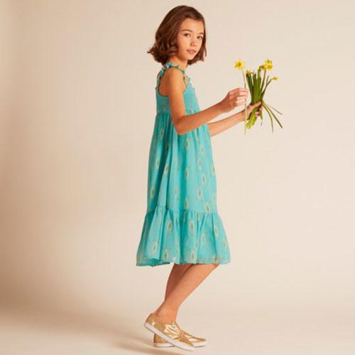 Wild & Gorgeous Goa Dress Turquiose (Jurk)-4