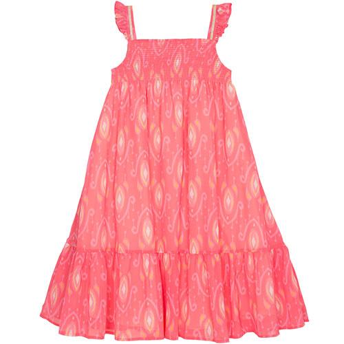 Wild & Gorgeous Goa Dress Coral (Jurk)-1