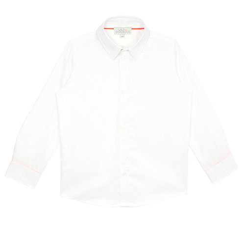 Wild & Gorgeous Sharp Blouse White (Shirt)-1