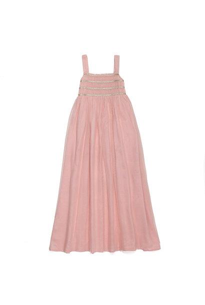 Wild & Gorgeous Sugar Almond Dress Shell Pink (Jurk)
