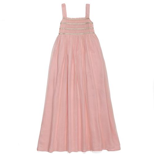 Wild & Gorgeous Sugar Almond Dress Shell Pink (Jurk)-1