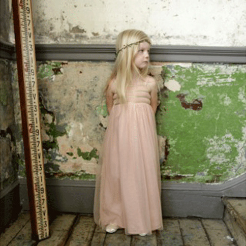 Wild & Gorgeous Sugar Almond Dress Shell Pink (Jurk)-2