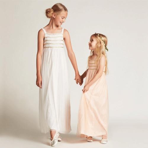 Wild & Gorgeous Sugar Almond Dress Shell Pink (Jurk)-3