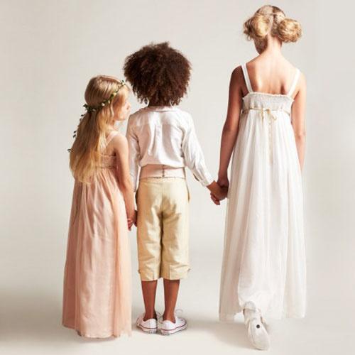 Wild & Gorgeous Sugar Almond Dress Shell Pink (Jurk)-4