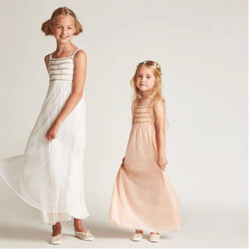 Wild & Gorgeous Sugar Almond Dress Cream (Jurk)-2