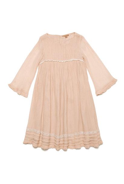 Wild & Gorgeous Forget-me-not Dress Peach (Jurk)