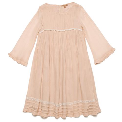 Wild & Gorgeous Forget-me-not Dress Peach (Jurk)-1