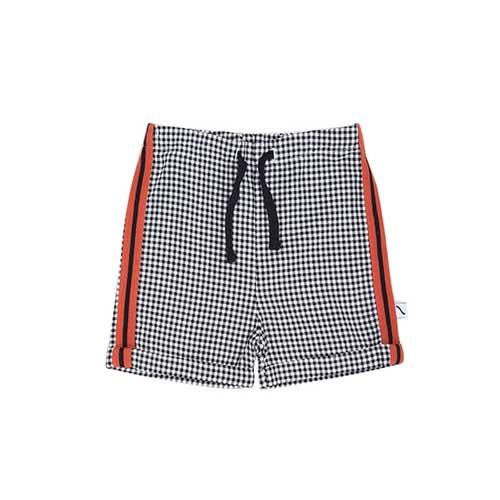 CarlijnQ Mini Checkers Bermuda (Korte broek)-1