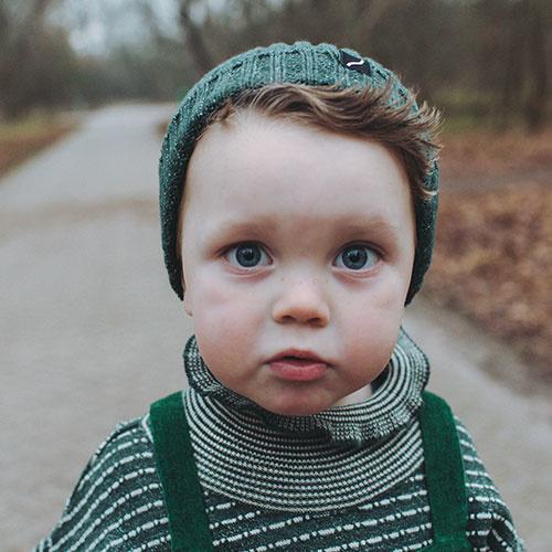 CarlijnQ Knitted Sweater Striped Green (Trui)-5