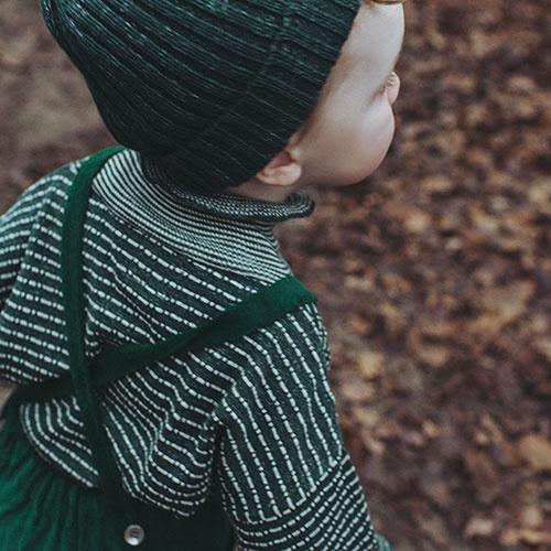CarlijnQ Knitted Sweater Striped Green (Trui)-6